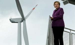Angela Merkel has made a deal with Germany's states to control the pace of green energy expansion.