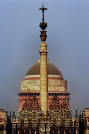 Parliament House, New Delhi.