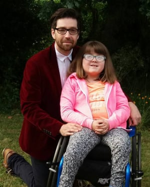 Dan White with his daughter Emily.