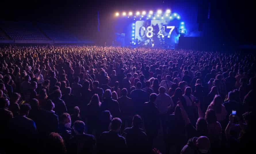 Barcelona rock concert