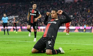 Leon Bailey scored with two excellent finishes after swift Bayer Leverkusen counter-attacks.