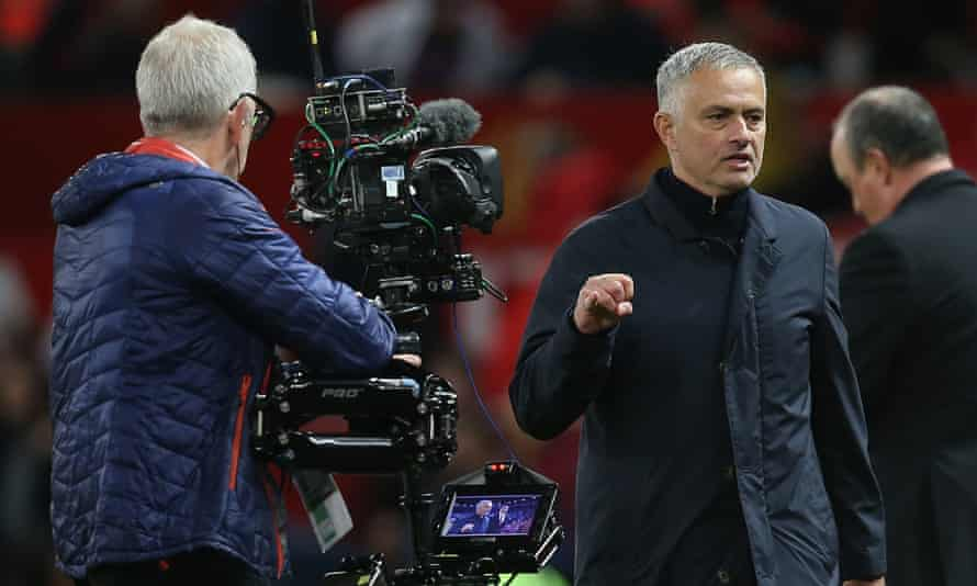 José Mourinho made his comments after Manchester United's dramatic win over Newcastle.