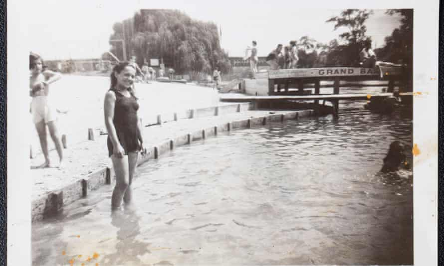 Paris 1946: Janine Webber, in France after the war ended.