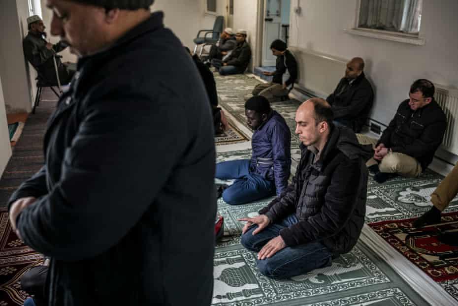 Romford Mosque Friday prayers