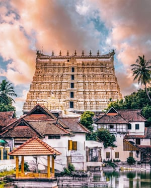 Wealth beyond dreams. Padmanabhaswamy temple is the world's richest religious monument! Treasure estimated at $22bn was found there in 2011 – necklaces, jewels, statues and gold coins.