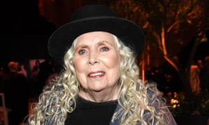 Joni Mitchell at an Oscars party in Beverly Hills, February 2020
