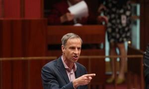 Greens Senator Nick McKim