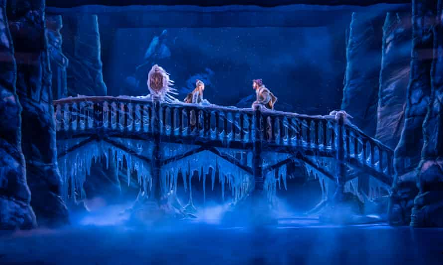 Bold, goofy, full of yearning … Anna (Stephanie McKeon) and Kristoff (Obioma Ugoala) in Frozen.