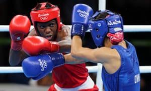 Great Britain's Nicola Adams at the Rio Olympics