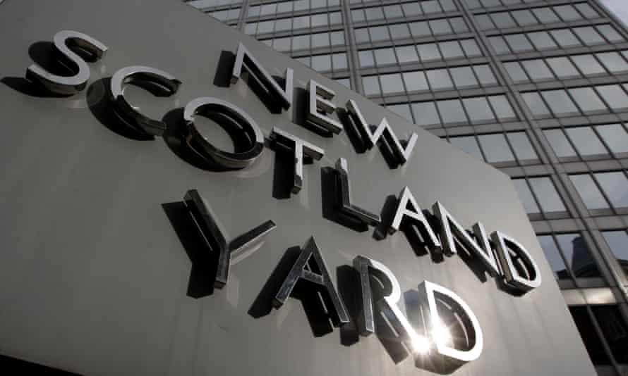 Sign at New Scotland Yard