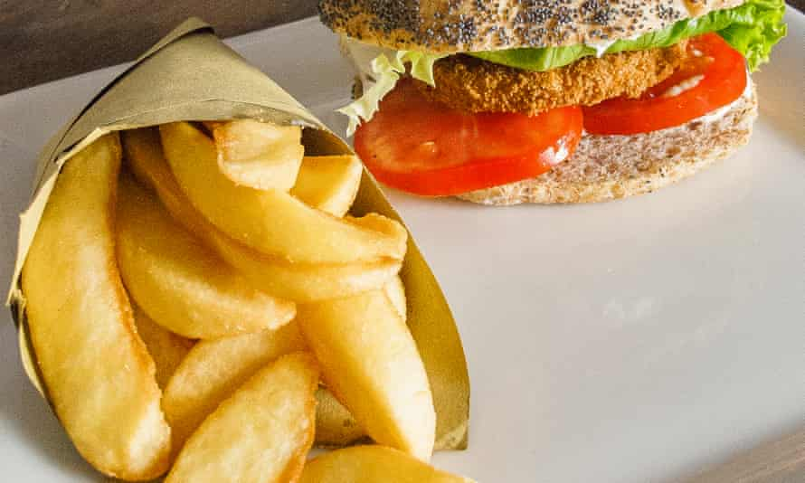Burger and chips (but healthy, ethical and vegan): Soul Kitchen, Turin.