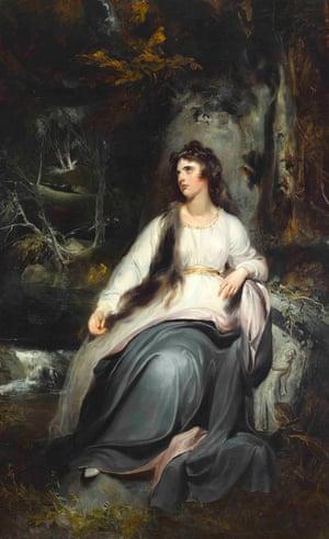 La Penserosa: a portrait of Lady Emma Hamilton by Sir Thomas Lawrence.