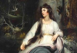 Emma as La Penserosa, 1791-92, by Sir Thomas Lawrence.