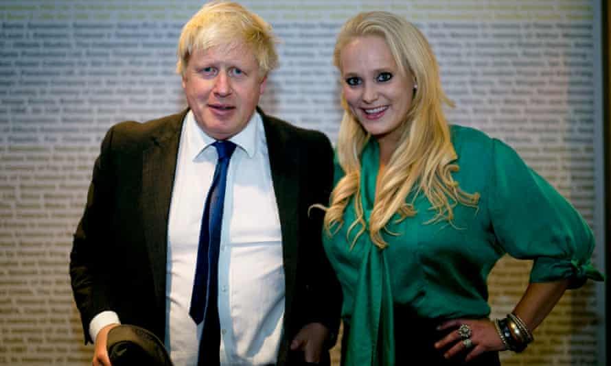Jennifer Arcuri and Boris Johnson