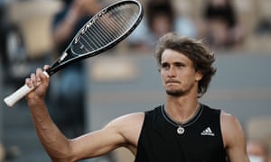 Alexander Zverev is into his first French Open semi-final after a dominant win.