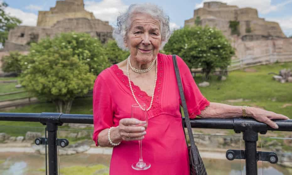 Judith Kerr wins the BookTrust lifetime achievement award 2016 at London Zoo