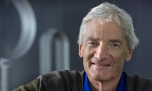 Sir James Dyson at Dyson's Malmesbury headquarters.