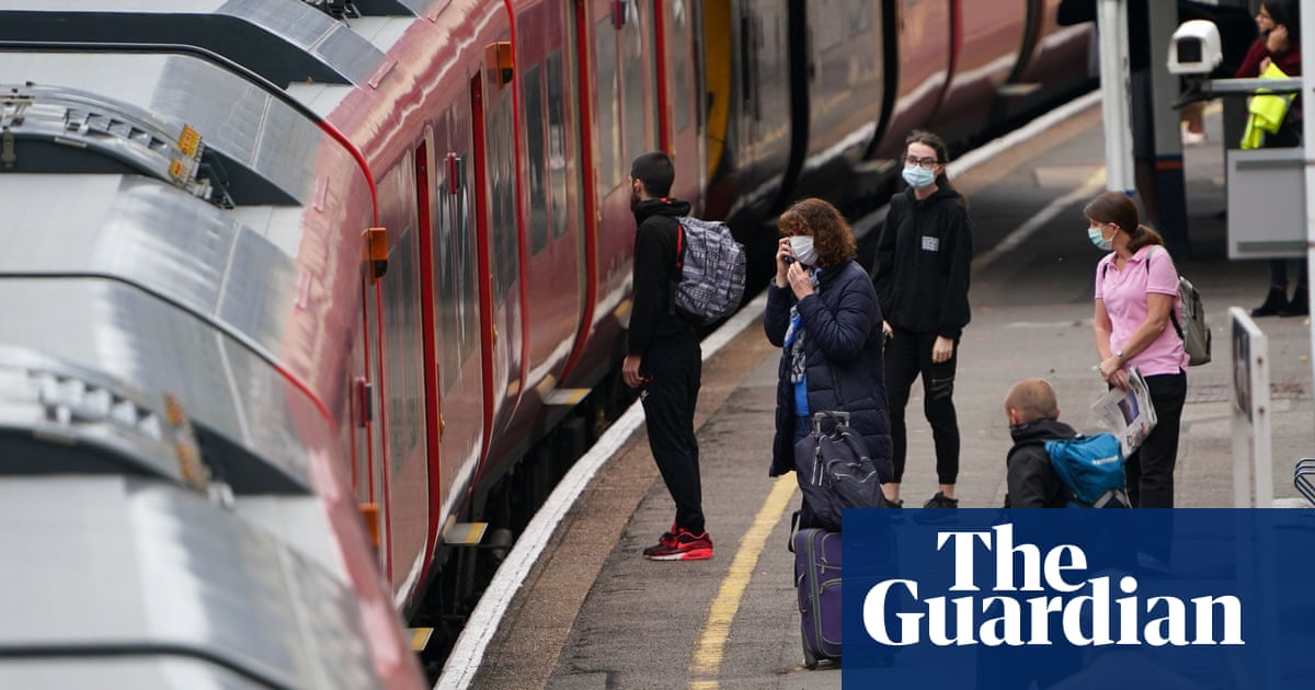 UK transport boss urges ministers to get people back on trains and buses - The Guardian