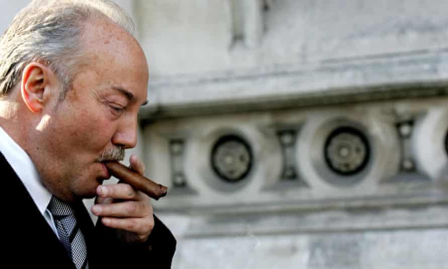 George Galloway smoking