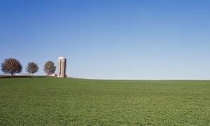 Farmstead in Pierce County, Wisconsin.