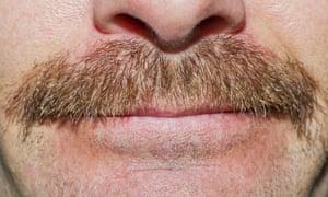 A Movember tache