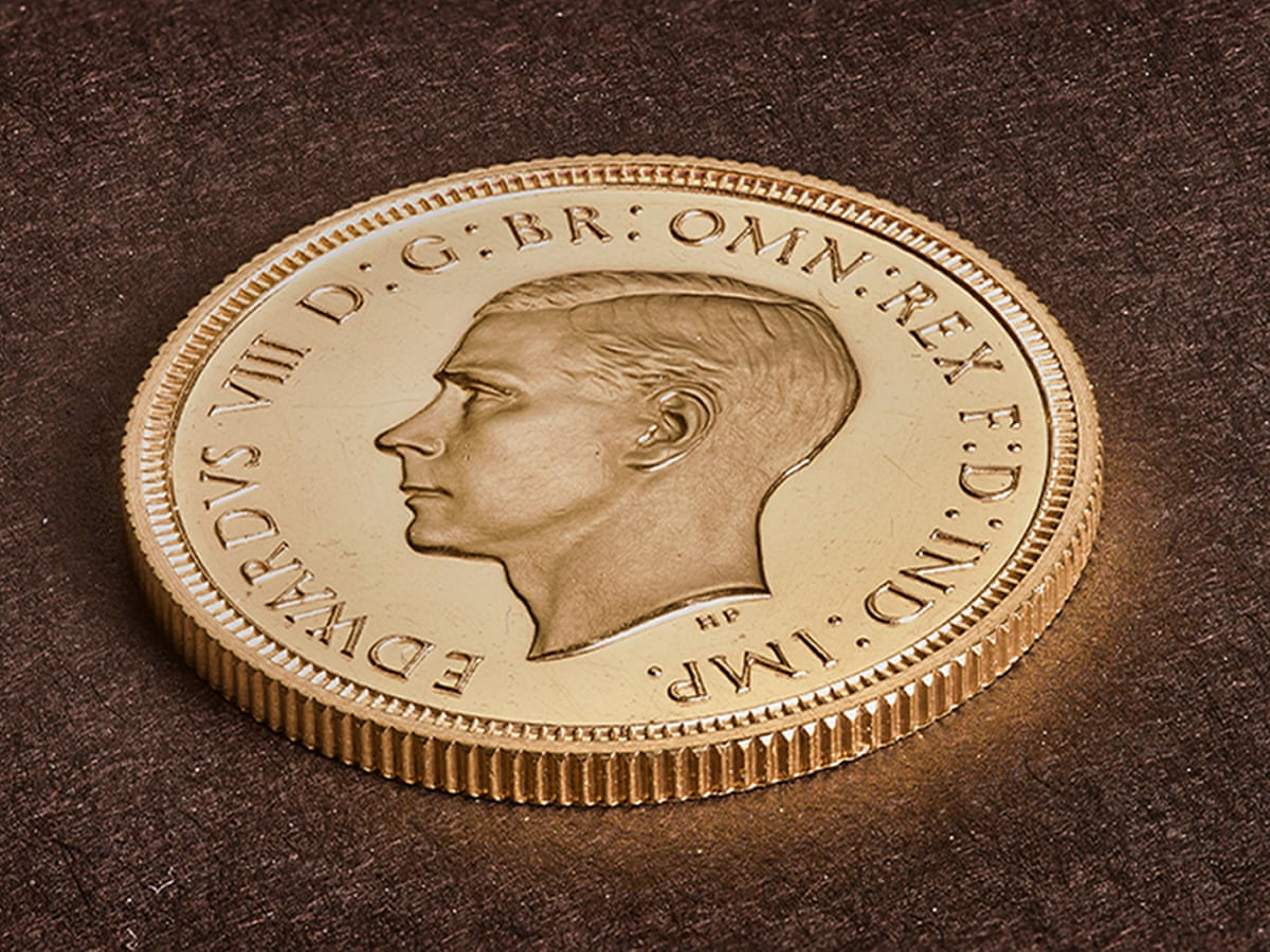 Never Meant To Exist Edward Viii Coin Bought For Record 1m Money The Guardian