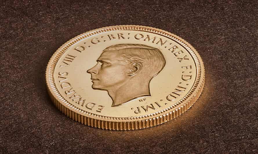 Edward VIII sovereign coin