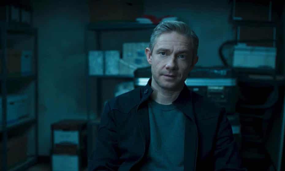 Martin Freeman in Black Panther.