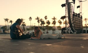 Bradley Cooper and Lady Gaga in A Star Is Born (2018).