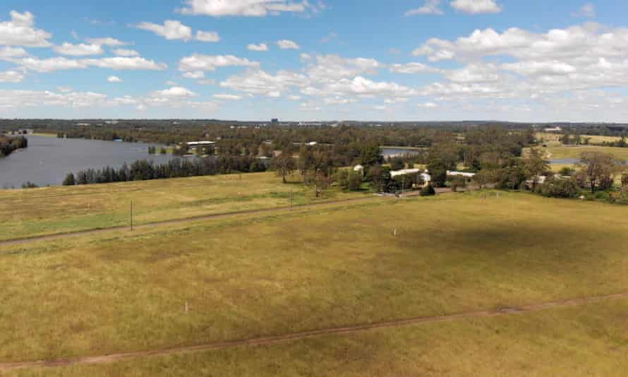 The Penrith Lakes property development after the 2021 NSW floods