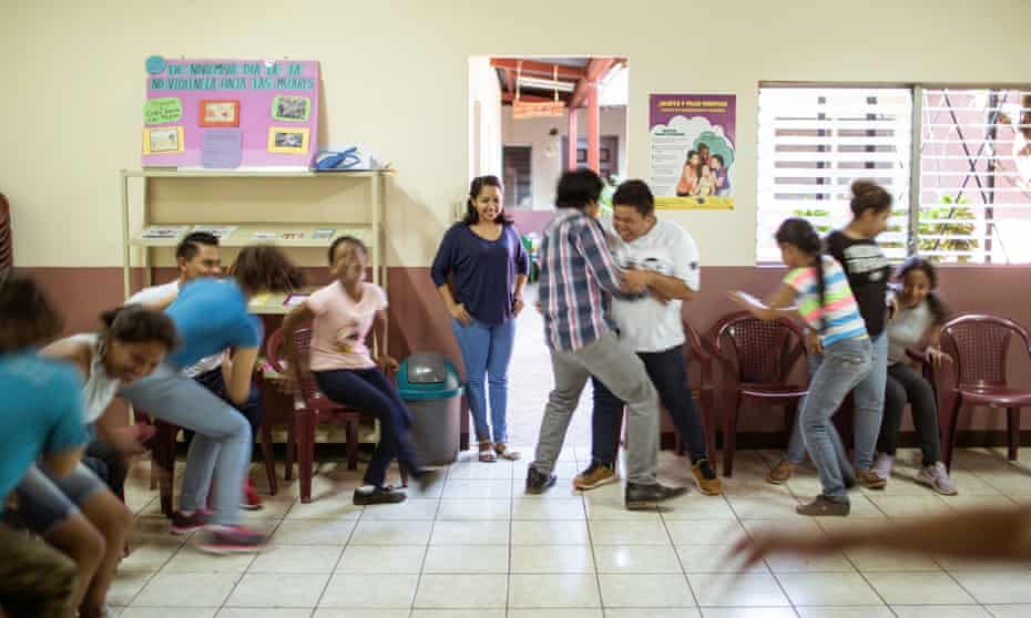 At a school in Managua, Nicaragua, students are taught about gender equality, toxic masculinity, sex and healthy relationships.