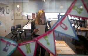 A pupil at King David high school in Liverpool looks pleased with her results