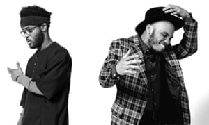 Producer Knxwledge and Anderson.Paak.