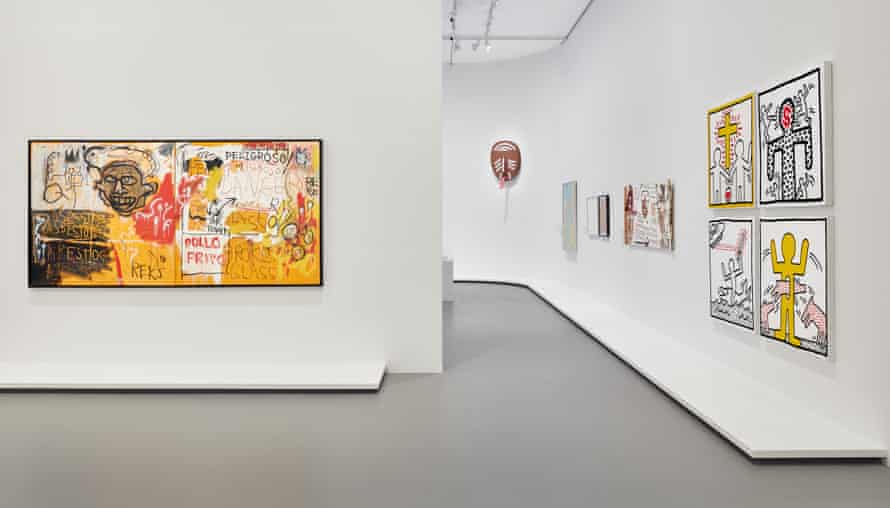 Installation view from Crossing Lines.
