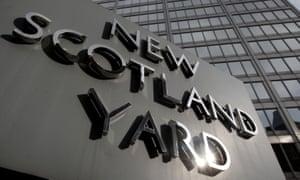 Scotland Yard, the Metropolitan police headquarters