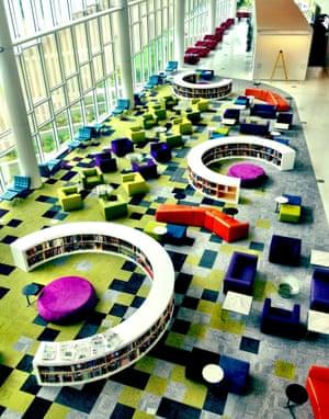 Hunt library at NCSU