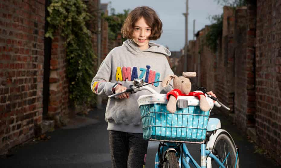 PROJECT KID - Holly Ronicle , 10, photographed near her home in York, north Yorkshire.