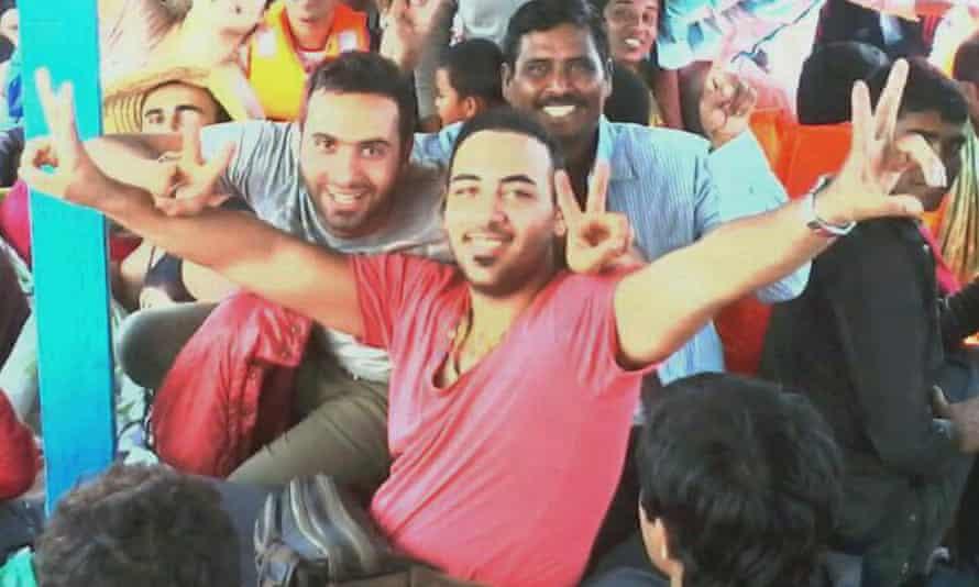 Omid, Iranian refugee on Nauru