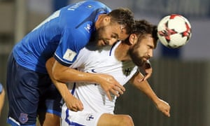 Atdhe Nuhiu (left) is not as prolific as Vedat Muriqi for Kosovo but could make an impact against the Czech Republic.