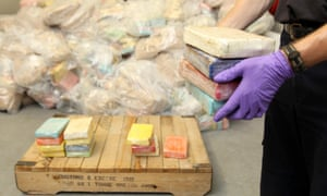 Seizures of cocaine have risen as the drug has flooded into the UK in recent years.