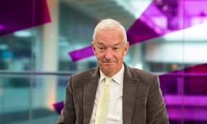 Channel 4's Jon Snow. His remarks have led to a backlash online.