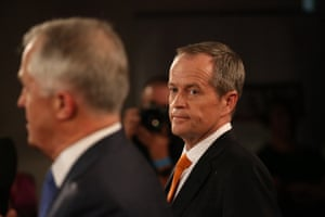 Turnbull and Shorten face off