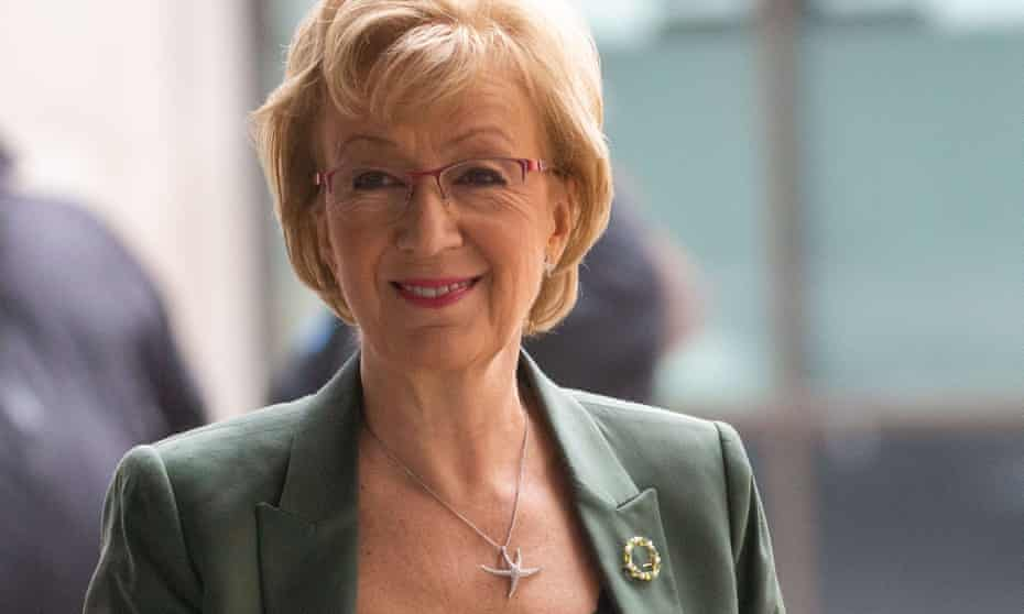 Andrea Leadsom, cabinet minister and leader of the House of Commons, is among opponents of the HS2 rail link.