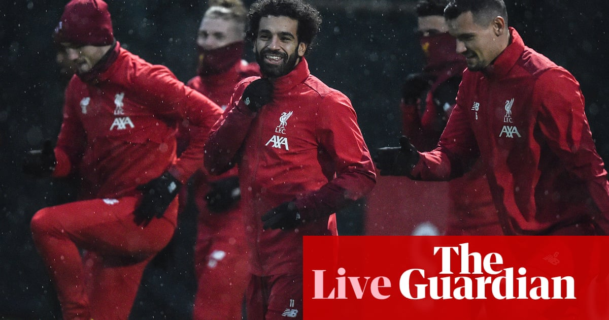 Premier League team news, Womens Champions League draw and more – live!