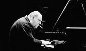 Misha Mengelberg performin in Nijmegen, the Netherlands, in 1996.