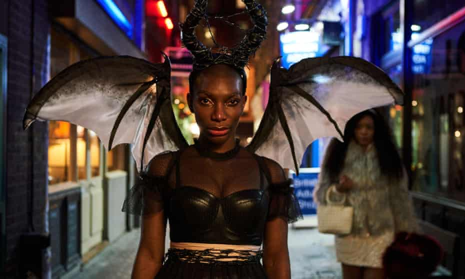 Michaela Coel in the BBC series I May Destroy You.