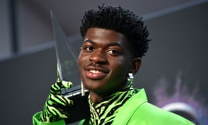 Lil Nas X at the 47th annual American Music Awards, in Los Angeles, 24 November 2019.