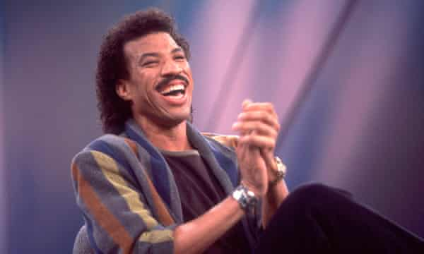 Lionel Richie, unrivalled master of the soul mullet through the late 70s and into the 1980s.