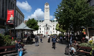 The town hall in Luton.