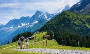 Chamonix Valley, French Alps